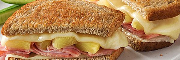 Grilled Hawaiian Sandwich