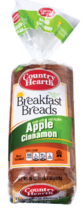 country hearth apple cinnamon breakfast bread