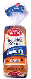 country hearth blueberry breakfast bread