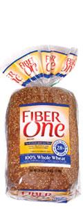 Fiber One 100% Whole Wheat Bread