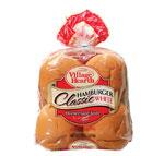 village hearth classic white hamburger buns