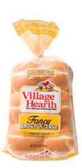 village hearth fancy brown 'n serve rolls