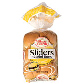 village hearth slider mini buns