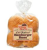 village hearth old fashioned hamburger buns