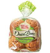 village hearth onion hamburger buns