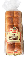 village hearth wheat tea rolls