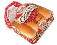 Village Hearth Classic White Hot Dog Buns
