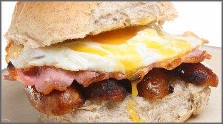 easy breakfast bun