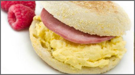 Lighter Breakfast Sandwich 187 Country Hearth Village
