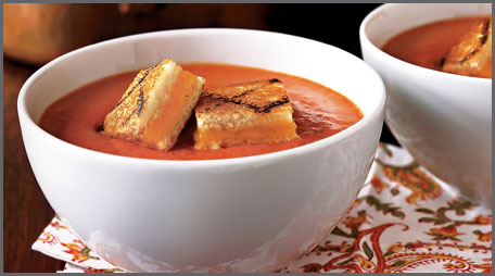 best tomato soup and grilled cheese