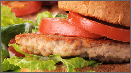 light turkey burgers