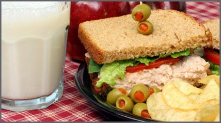 new england tuna salad sandwich