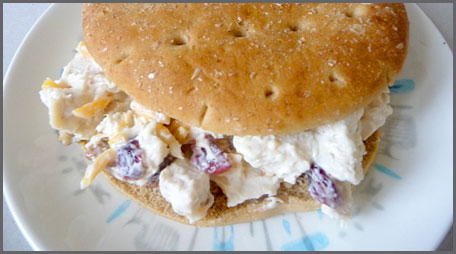 slender chicken salad sandwich