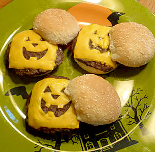 Halloween Hamburgers.Haunted Hamburgers And Halloween Stress Country Hearth