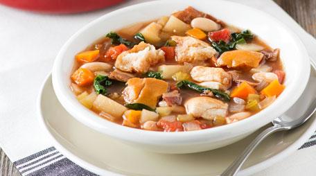 bun and bean italian soup