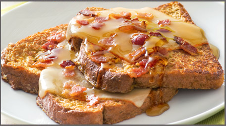recipe: french toast with bacon and cheese [4]