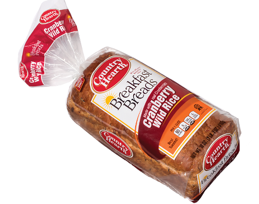 Cranberry Wild Rice Breakfast Bread 187 Country Hearth