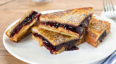 Kids Choice Peanut Butter Amp Jelly French Toast 187 Country