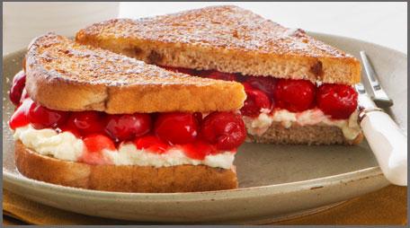 Cherry Cheesecake Sandwiches 187 Country Hearth Village